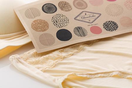 絹のショーツ Chandrika ◆ApricotYellow