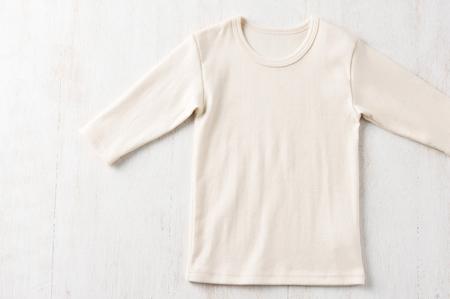 オーガニックコットンベビー&キッズ◆長袖Tシャツ