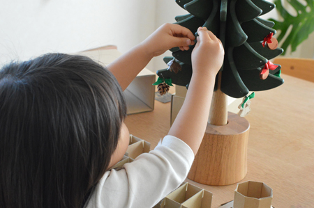 クリスマスツリー,オルゴールツリー,ギフト,オークヴィレッジ,通販