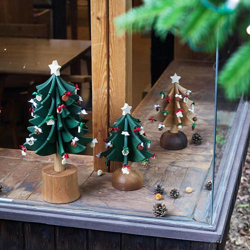 クリスマスツリー,オークヴィレッジ,おしゃれ,お洒落,オシャレ,木製,通販