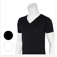 絹Tシャツ
