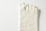 絹100%おやすみ用ゆったり靴下