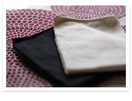 絹の腰腹巻き