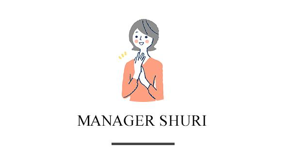 manager   SHURI
