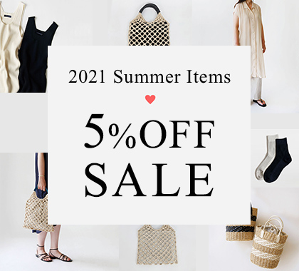 2021春夏ファッションSALE